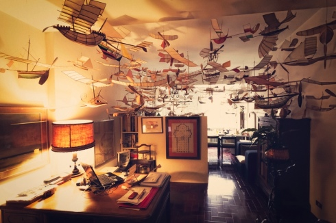 Ships That Sail Through the Clouds Meet Luigi Prina, the 83-Year-Old Builder of Flying Model Ships. Photos by Gianluca Giannone courtesy Blinking City (1)