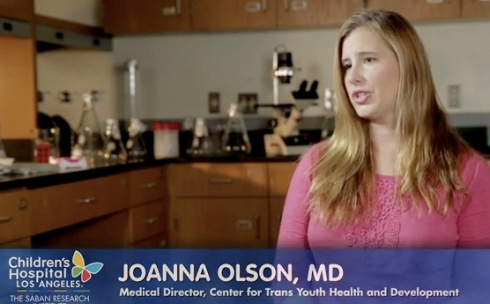 Dr. Johanna Olson from the LA Children's Hospital website. (yes they misspelled her name).
