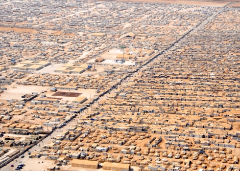 1 Zaatari Refugee Camp, Dezeen